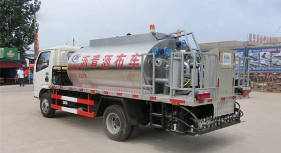5Tons Asphalt Distributor Truck for Bitumen Distribution Truck for Road Construction
