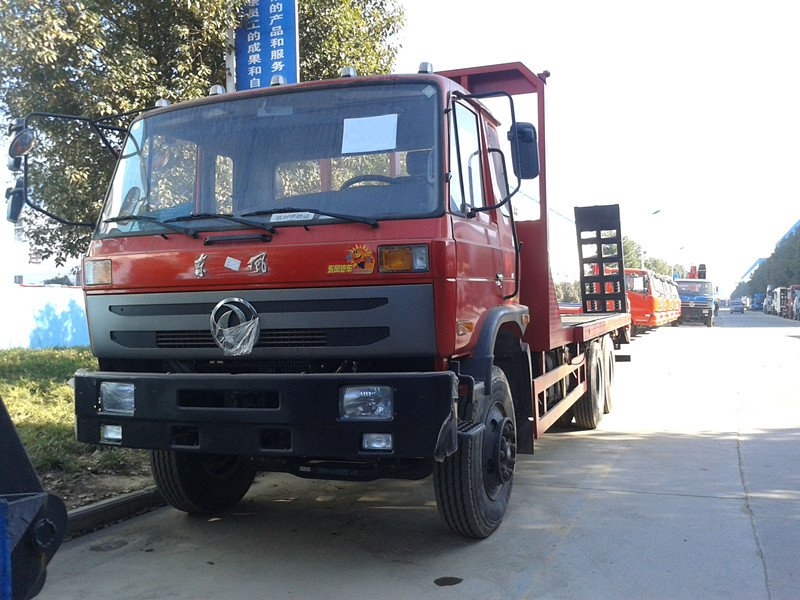 Dongfeng Brand 6X4 20 Ton 210HP Flatbed Self Loading Transportation Truck