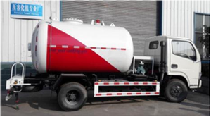2116 Gallon Fully Refrigerated LPG Propane Delivery Road Truck