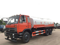 Dongfeng 6*4 15cbm side spray head water tank truck