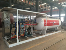 20000 Liters Lpg Gas Cylinder Filling Plant Lpg Skid Station