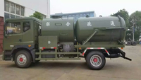 6 Wheels 8CBM 10CBM 8tons 10T High Pressure Combination Sewer Cleaning Truck