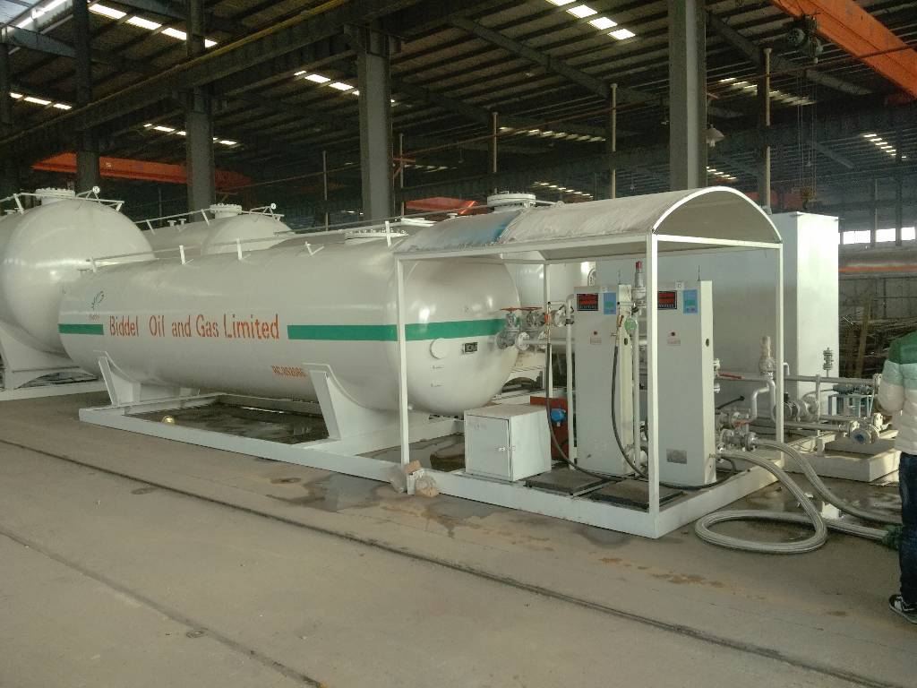 Introduction of LPG skid station