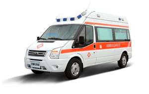 Foton High Roof ICU Transit Ambulance Truck