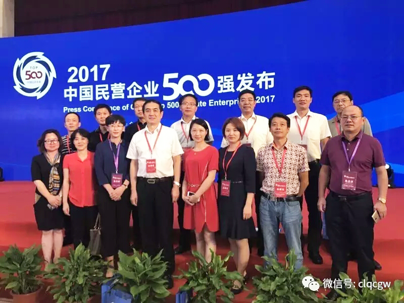 China's top 500 private enterprises released