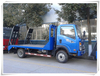 CLW 2 Alex Sinotruk 4X2 Self Loading Flatbed Transportation Truck with Hydraulic Ladder