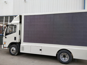 Commercial Use P4 P5 P6 Full Color Screen LED Advertisement Truck