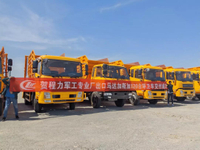 Chengli 120 UNITS Skip loader Garbage Trucks Exported to Madagascar
