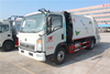 Sinotruk HOWO 6*4 Red Colour Garbage Compactor Truck