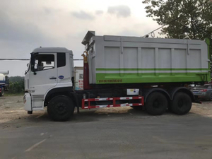 Dongfeng 24cbm 6*4 LHD Hook Lift Garbage Truck