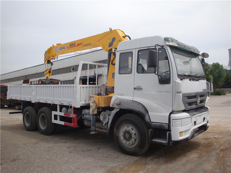 HOWO 6x4 16tons Truck with Crane