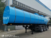 34CBM 3axles Semi Trailer Load Chemical Liquid Bulk Cement Asphalt